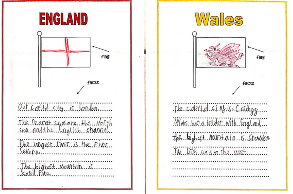 Isaac has done some fabulous Geography research