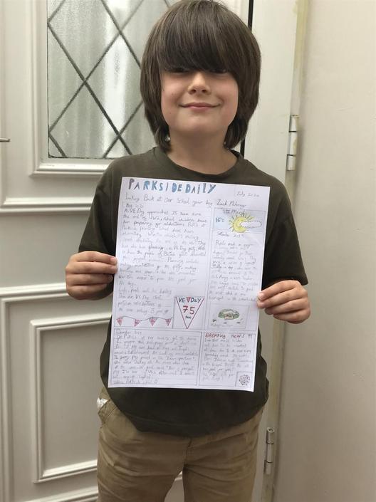 Zach wrote a fabulous newspaper article