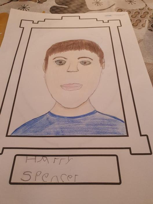 Harry's fabulous portrait