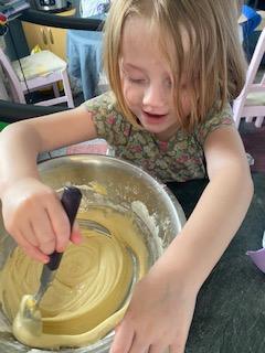 Leila has been baking cakes