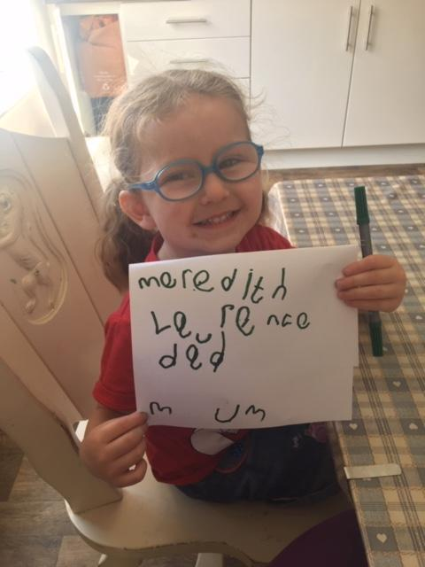 Lovely writing Meredith, well done!