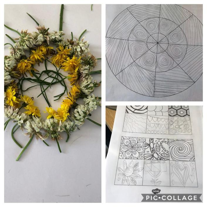 Hollies creative flower Mandala