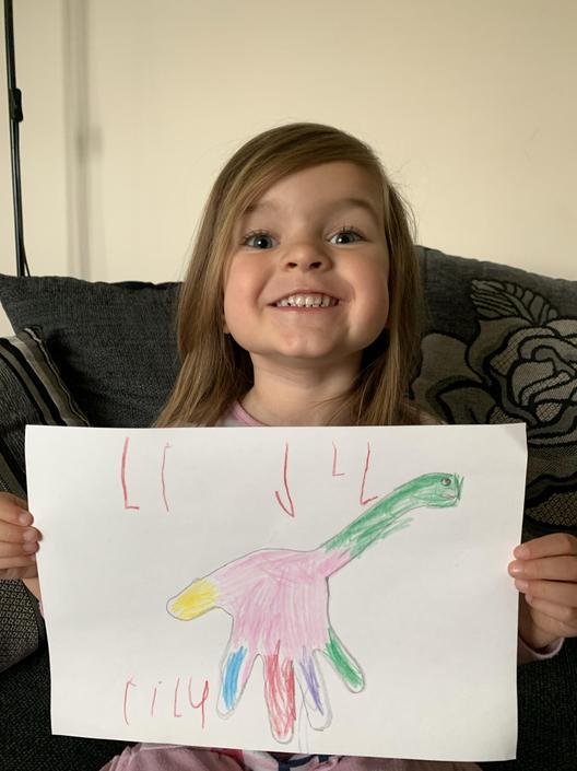 Lily's Dinosaur