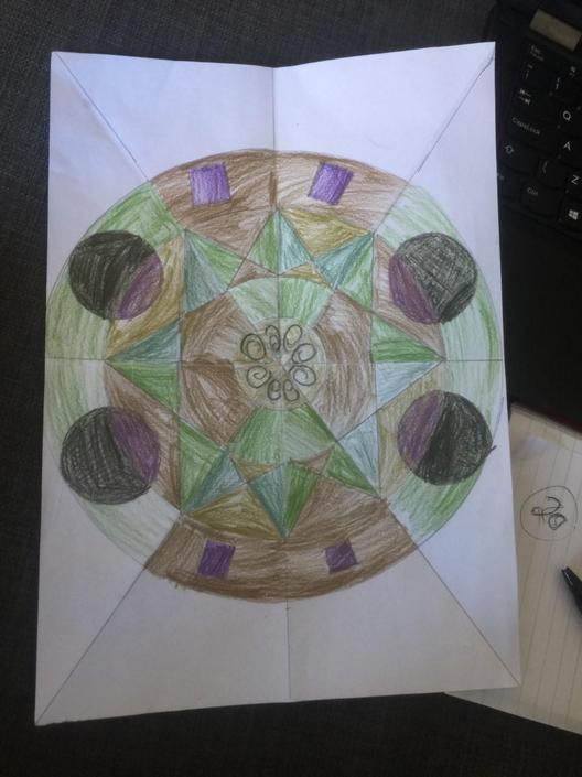 A lovely Mandala from Nevan