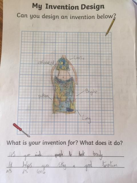 Look at this design for the Maya invention task! Fantastic detail