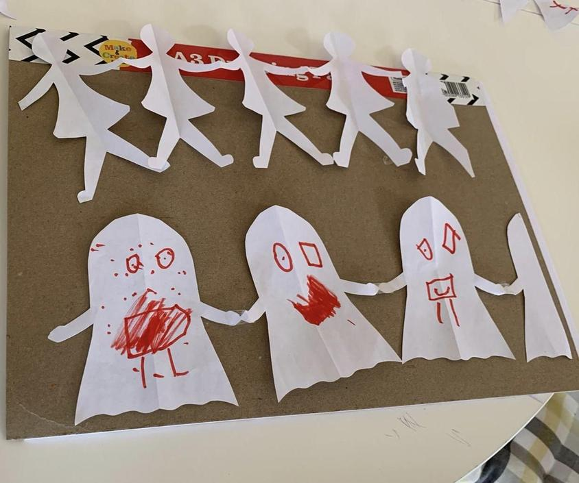 Paper dolls by Jude
