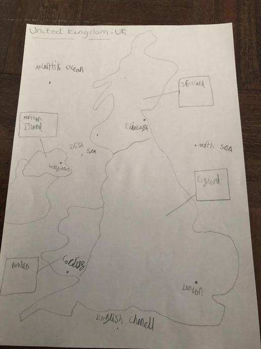 Great Geography skills Isla