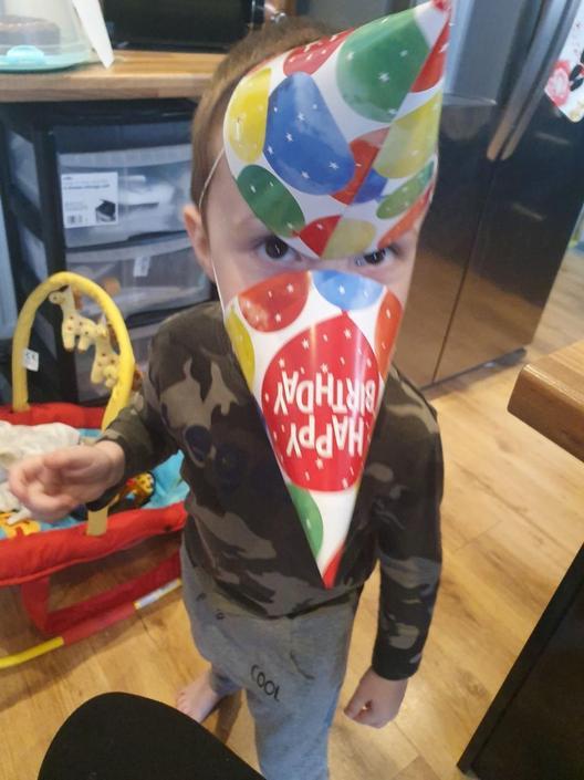 Happy birthday Alfie love from Harry
