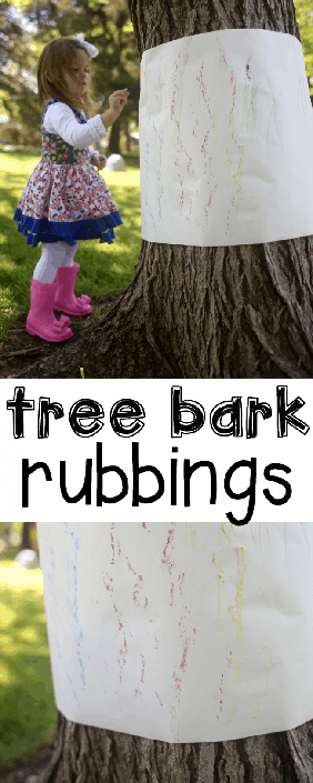 Have a go at tree bark rubbing and then see what else makes an amazing pattern!