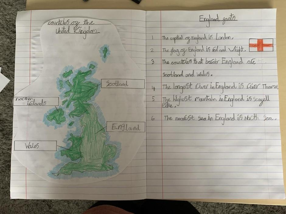 Some fab Geography work Noah