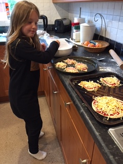 Sophie has been getting very creative in the kitchen this week - looks very yummy Soph!