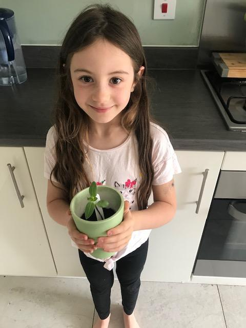 growing well Eva - well done!