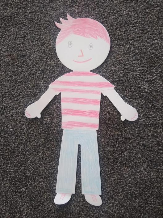 A fabulous Flat Stanley by Ellie