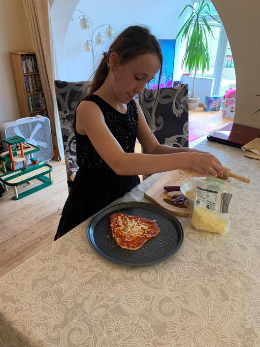 A chef in the making...