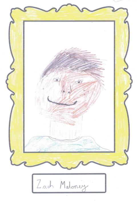 Zach's self portrait