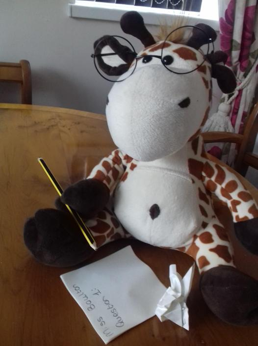 Geraldine has been having fun interviewing everyone in Miss Boulton's house. She hopes you have posed lots of questions to everyone in your homes to get the best possible article for the Parkside Press!