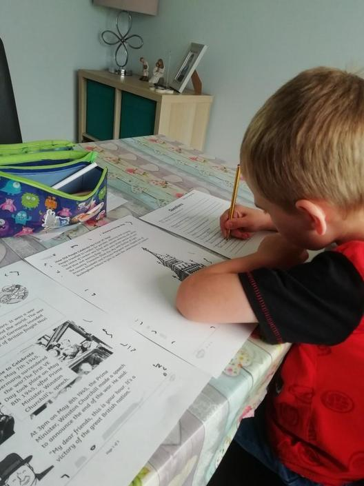 Research about VE Day by Sam