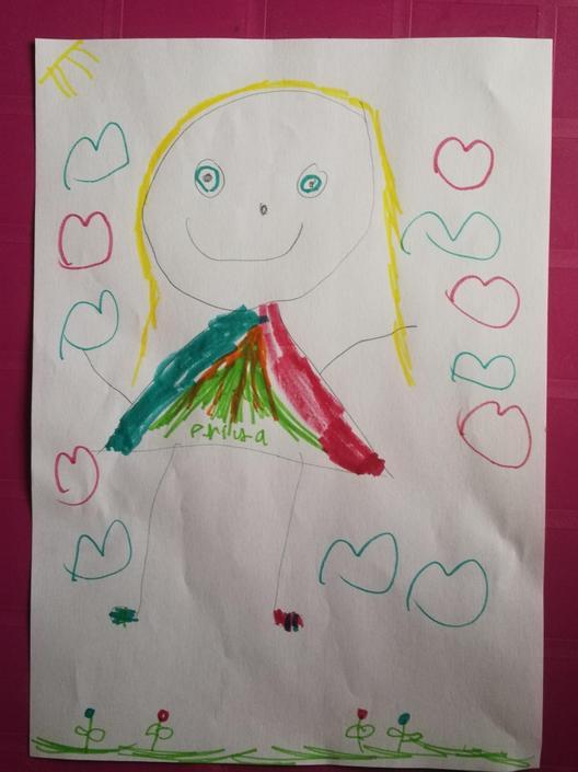 Priya's self portrait