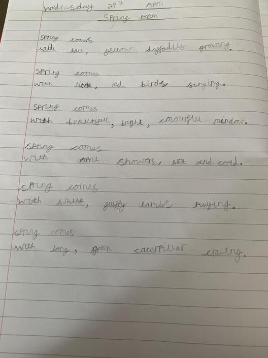 A great poem - well done Callum