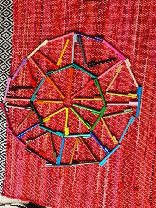 Ethan has created some great Mandalas