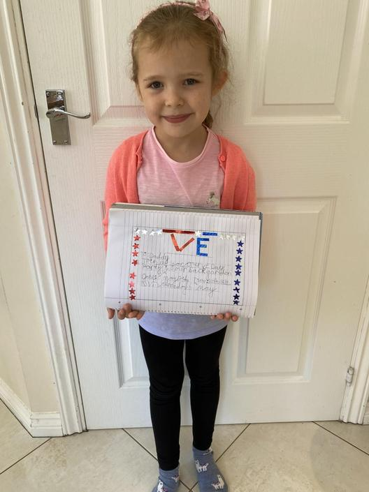 Ava has big VE Day plans