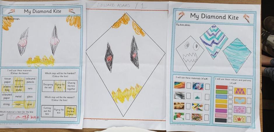 Edward has designed a fab kite.