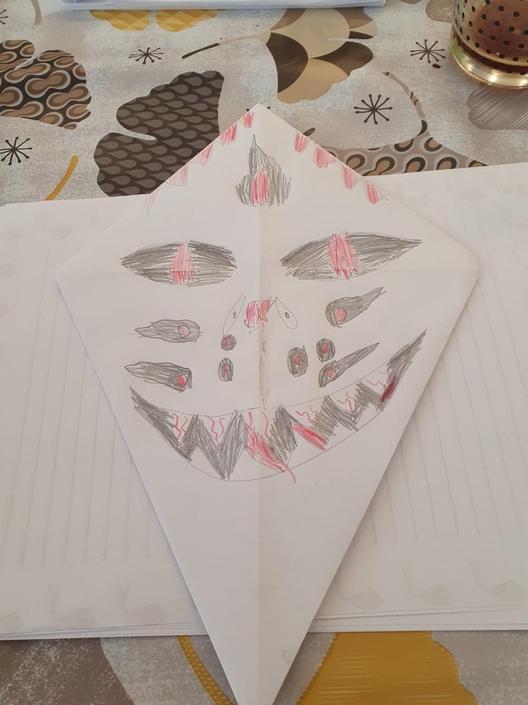 Harry S has designed a fabulous kite!
