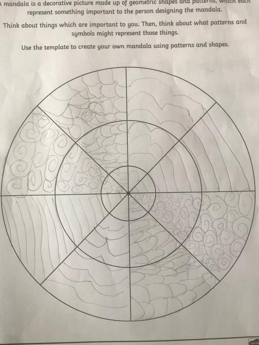 A great Mandala from Edward