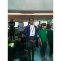 Sunsea came 3rd out off 44 girls in the backstroke
