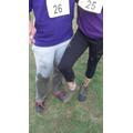 A bit of mud!
