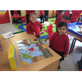 We love completing lots of puzzles.