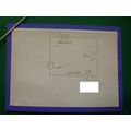 A diagram of a circuit.