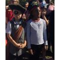We enjoyed pirate day.