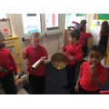 We have enjoyed making music.