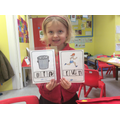 We have been doing really well with our phonics.