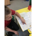 Great work using a dictionary.