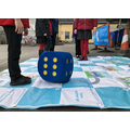 We shared super-sized outdoor games to learn more about active travel