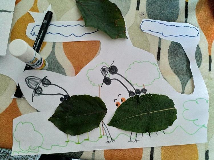 Ella's fantastic picture of leaf bugs⭐