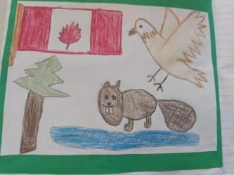 Tevita, a great postcard from Canada  ⭐️