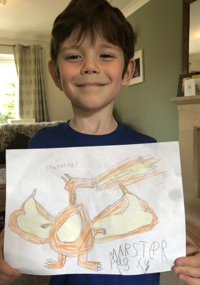 An artist! We love the detail in this ⭐️
