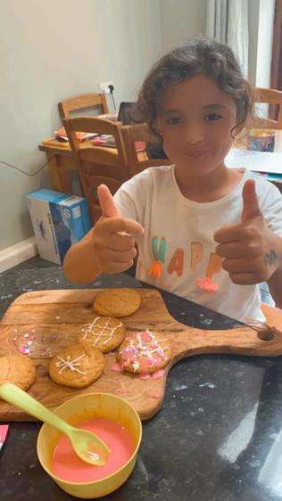 Dalia made biscuits ⭐