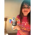 Mabel's toucan