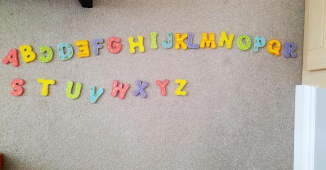 Great alphabet work, Luca ⭐️