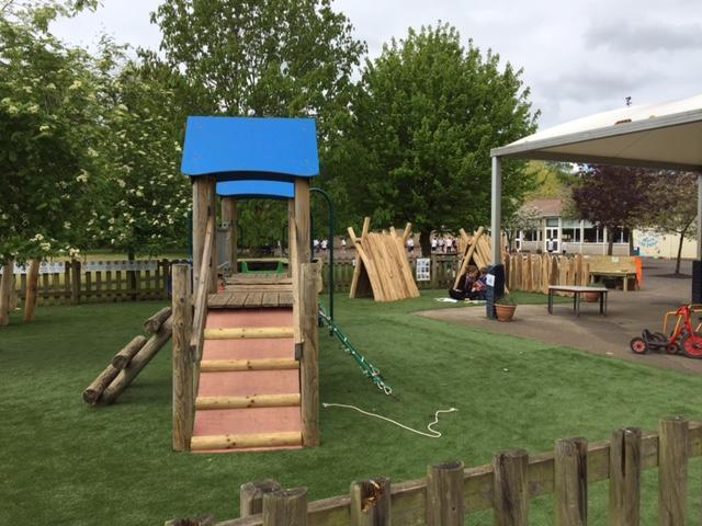 The EYFS outdoor classroom