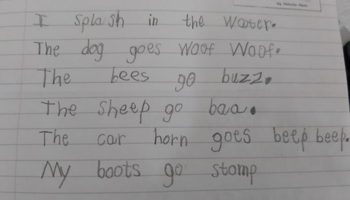 Tevita, you're a great poet! ⭐️