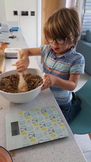 Jacob made granola as well - top chef ⭐️