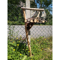 Gabriel's bird table and bug hotel