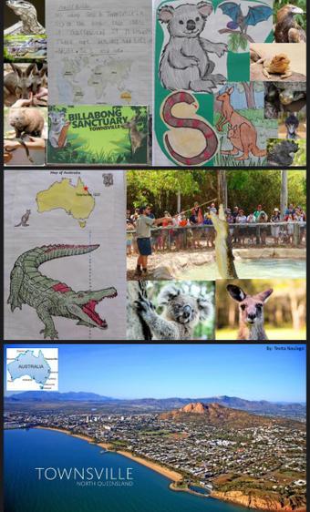 Excellent research about Australia, Tevita! ⭐️