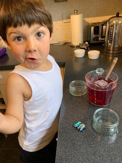 Luke made bug jelly ⭐