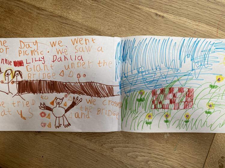 Dalia made a fab story ⭐